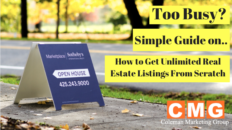 How to Get Unlimited Real Estate Listings