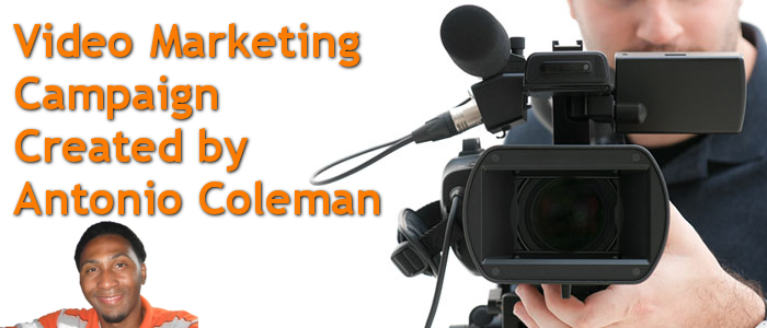 Video Marketing Campaign Created by Antonio Coleman