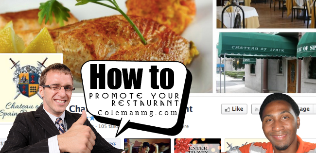 how to promote your restaurant