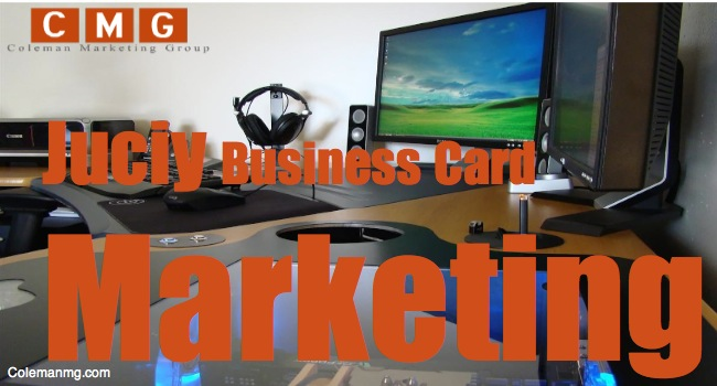 Juicy Business Card Marketing Ideas Every Business Should Steal from Me