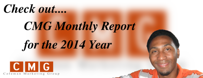 My First Yearly Local Marketing Report for the Year of 2014