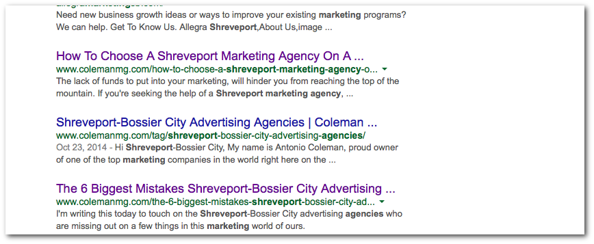 shreveport marketing agencies