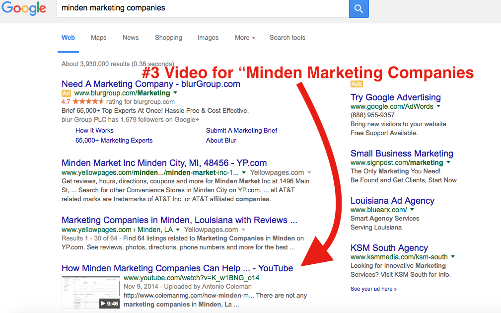 minden marketing companies local marketing ideas
